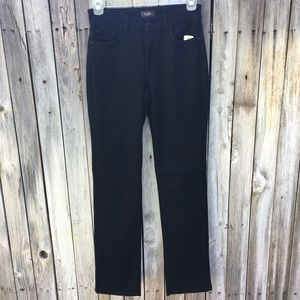 NWT NYDJ Marilyn Straight Leg Jean Black 8
